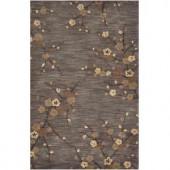 Home Decorators Collection Kimono Grey 8 ft. x 11 ft. Area Rug