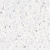 Armstrong Multi 12 in. x 12 in. Cirque White Excelon Vinyl Tile (45 sq. ft. / case)