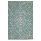Home Decorators Collection Kenilworth Blue 2 ft. x 3 ft. Area Rug