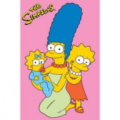 Fun Rugs The Simpsons Girls Multi Colored 19 in. x 29 in. Accent Rug