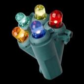 50-Light LED Multi-Color Dome Lights