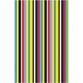 LA Rug Inc. Fun Time Stripemania Multi Colored 19 in. x 29 in. Area Rug
