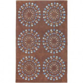 Artistic Weavers Colton Chocolate 3 ft. 3 in. x 5 ft. 3 in. Area Rug