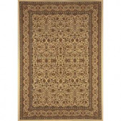 Home Dynamix Super Kashan SK8302-Ivory 23 in. x 43 in. Accent Rug