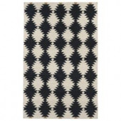 Kaleen Nomad Black 2 ft. x 3 ft. Area Rug