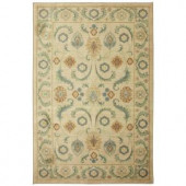 Dennell Butter Pecan 5 ft. x 8 ft. Area Rug
