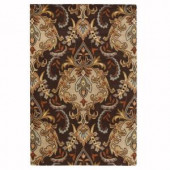 Home Decorators Collection Natal Brown 2 ft. 6 in. x 4 ft. 6 in. Area Rug