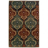 Oriental Weavers Camille Dalles Multi 1 ft. 10 in. x 2 ft. 10 in. Scatter Area Rug