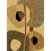 United Weavers Dunkin Cream 5 ft. 3 in. x 7 ft. 2 in. Area Rug