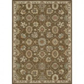 Loloi Rugs Fairfield Life Style Collection Brown Ivory 7 ft. 6 in. x 9 ft. 6 in. Area Rug