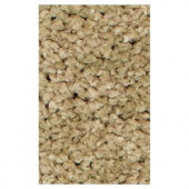 Kas Rugs Stocky Shag Sage 2 ft. 3 in. x 3 ft. 9 in. Area Rug