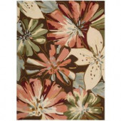 Nourison Hermosa Multicolor 2 ft. 6 in. x 4 ft. Area Rug