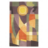 Kas Rugs Abstract Sun Pastels 3 ft. 6 in. x 5 ft. 6 in. Area Rug