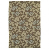Kaleen Home & Porch Wymberly Coffee 3 ft. x 5 ft. Area Rug