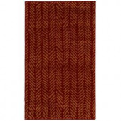 Oriental Weavers Camille Sable Red 3 ft. 2 in. x 5 ft. 5 in. Area Rug