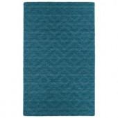 Kaleen Imprints Modern Turquoise 2 ft. x 3 ft. Area Rug