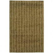 Oriental Weavers Camille Sable Green 3 ft. 2 in. x 5 ft. 5 in. Area Rug