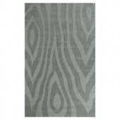 Kas Rugs Damask Grains Blue 2 ft. 6 in. x 4 ft. 2 in. Area Rug
