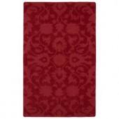 Kaleen Imprints Classic Red 2 ft. x 3 ft. Area Rug
