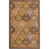 Home Decorators Collection Grandeur Blue Multi 7 ft. 6 in. x 9 ft. 6 in. Area Rug