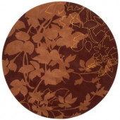 Home Decorators Collection Arcadian Terra 5 ft. 5 in. Round Area Rug