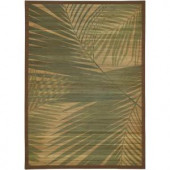 LR Resources Palm Tree Natural 5 ft. x 7 ft. Eco-friendly Indoor Area Rug