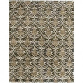 LR Resources Indulgence Charcoal 7 ft. 9 in. x 9 ft. 9 in. Extremely Plush Indoor Area Rug