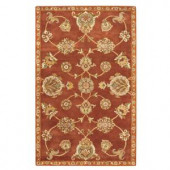 Home Decorators Collection Lagoon Rust 2 ft. x 3 ft. Accent Rug