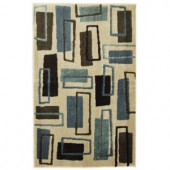 Mohawk Carson Rectangle Cream 2 ft. 6 in. x 4 ft. 2 in. Area Rug