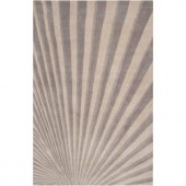 Surya Candice Olson Oyster Gray 2 ft. x 3 ft. Accent Rug