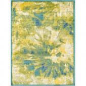 Loloi Rugs Lyon Lifestyle Collection Greengage 3 ft. 9 in. x 5 ft. 2 in. Area Rug
