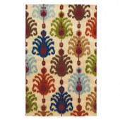 Home Decorators Collection Ikat Multi 2 ft. 6 in. x 4 ft. 6 in. Accent Rug