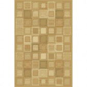 Natco Shadows Jonas Wheat Brown 7 ft. 10 in. x 10 ft. 10 in. Area Rug