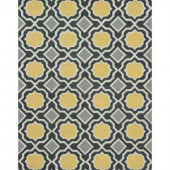 Loloi Rugs Weston Lifestyle Collection Charcoal Gold 7 ft. 9 in. x 9 ft. 9 in. Area Rug