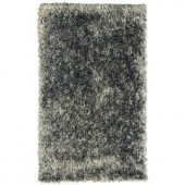 Lanart Electric Ave Silver 4 ft. x 6 ft. Area Rug