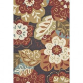 Loloi Rugs Summerton Life Style Collection Black Multi 7 ft. 6 in. x 9 ft. 6 in. Area Rug
