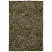 Chandra Astrid Green/Yellow 5 ft. x 7 ft. 6 in. Area Rug