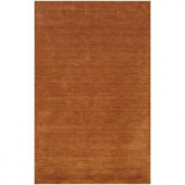 BASHIAN Contempo Collection Rust Ombre Rust 2 ft. 6 in. x 8 ft. Area Rug