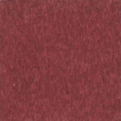 Armstrong Imperial Texture VCT 12 in. x 12 in. Pomegranate Red Standard Excelon Commercial Vinyl Tile (45 sq. ft. / case)