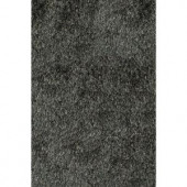 Momeni Luster Shag Carbon 2 ft. x 3 ft. Area Rug
