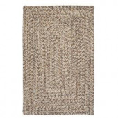 Colonial Mills Corsica Storm Gray 3 ft. x 5 ft. Braided Accent Rug