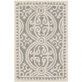Safavieh Cambridge Silver/Ivory 2 ft. x 3 ft. Area Rug