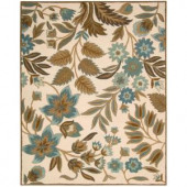Nourison In Bloom Ivory 7 ft. 6 in. x 9 ft. 6 in. Area Rug
