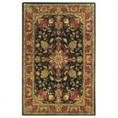 Home Decorators Collection ChamberlaIn Black 8 ft. x 11 ft. Area Rug
