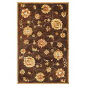 Kas Rugs Today's Mahal Mocha 3 ft. 3 in. x 5 ft. 3 in. Area Rug