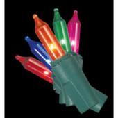 50-Light Multi-Color String-to-String Light Set