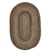 Colonial Mills Belmont Grain 10 ft. x 13 ft. Oval Braided Area Rug