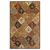 Kas Rugs Royal Panel Jeweltone 2 ft. 6 in. x 4 ft. 2 in. Area Rug