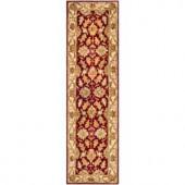 Safavieh Heritage Red/Ivory 2.3 ft. x 14 ft. Runner