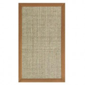 Home Decorators Collection Freeport Sisal Coast and Saddle 5 ft. x 7 ft. 9 in. Area Rug